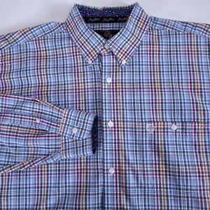 Wrangler George Strait Cowboy Cut Button Down XL